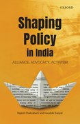 Cover for Shaping Policy in India