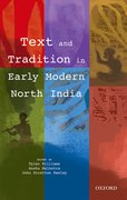 Cover for Text and Tradition in Early Modern North India