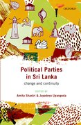 Cover for Political Parties in Sri Lanka