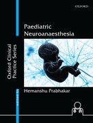 Cover for Paediatric Neuroanaesthesia
