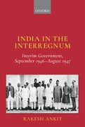 Cover for India in the Interregnum