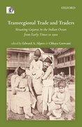 Cover for Transregional Trade and Traders