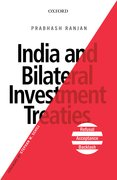 Cover for India and Bilateral Investment Treaties