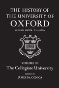 Cover for The History of the University of Oxford