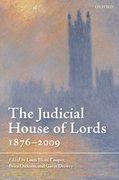 Cover for The Judicial House of Lords
