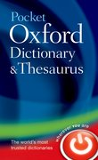 Cover for Pocket Oxford Dictionary and Thesaurus
