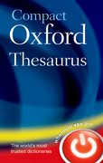Cover for Compact Oxford Thesaurus