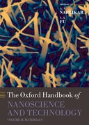 Cover for Oxford Handbook of Nanoscience and Technology