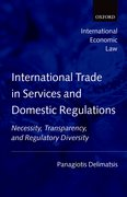 Cover for International Trade in Services and Domestic Regulations