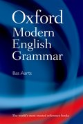 Cover for Oxford Modern English Grammar