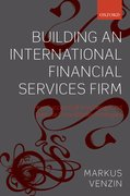 Cover for Building an International Financial Services Firm