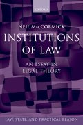 Cover for Institutions of Law