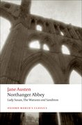 Cover for Northanger Abbey, Lady Susan, The Watsons, Sanditon