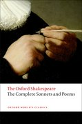 Cover for The Complete Sonnets and Poems: The Oxford Shakespeare - 9780199535798