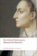 Cover for Measure for Measure: The Oxford Shakespeare - 9780199535842