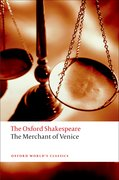 Cover for The Merchant of Venice: The Oxford Shakespeare - 9780199535859