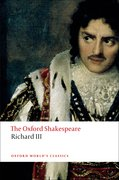 Cover for The Tragedy of King Richard III: The Oxford Shakespeare - 9780199535880
