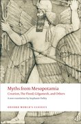Cover for Myths from Mesopotamia