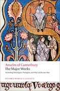 Cover for Anselm of Canterbury: The Major Works
