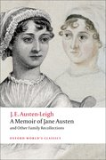 Cover for A Memoir of Jane Austen