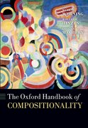 Cover for The Oxford Handbook of Compositionality