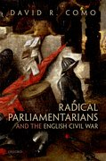 Cover for Radical Parliamentarians and the English Civil War