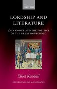 Cover for Lordship and Literature