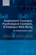 Cover for Employment Contracts, Psychological Contracts, and Employee Well-Being