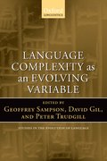 Cover for Language Complexity as an Evolving Variable