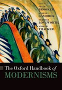 Cover for The Oxford Handbook of Modernisms
