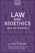 Cover for Law and Bioethics