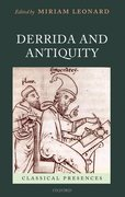 Cover for Derrida and Antiquity