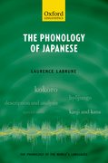 Cover for The Phonology of Japanese
