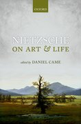 Cover for Nietzsche on Art and Life - 9780199545964