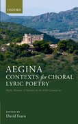 Cover for Aegina: Contexts for Choral Lyric Poetry