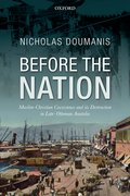 Cover for Before the Nation