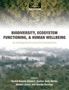Cover for Biodiversity, Ecosystem Functioning, and Human Wellbeing