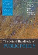 Cover for The Oxford Handbook of Public Policy