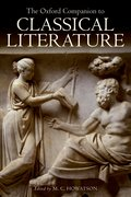 Cover for The Oxford Companion to Classical Literature