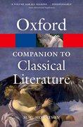 Cover for The Oxford Companion to Classical Literature