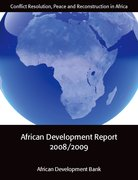 Cover for African Development Report 2008/2009
