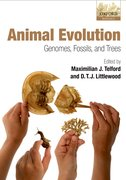 Cover for Animal Evolution
