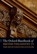 Cover for The Oxford Handbook of British Philosophy in the Seventeenth Century