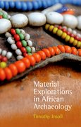 Cover for Material Explorations in African Archaeology - 9780199550067