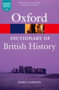 Cover for A Dictionary of British History