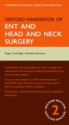 Cover for Oxford Handbook of ENT and Head and Neck Surgery