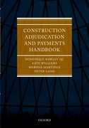 Cover for Construction Adjudication and Payments Handbook