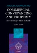 Cover for A Practical Approach to Commercial Conveyancing and Property