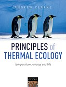 Cover for Principles of Thermal Ecology: Temperature, Energy and Life - 9780199551668