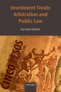Cover for Investment Treaty Arbitration and Public Law